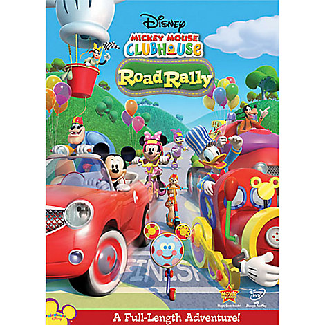 Clubhouse Road Rally Dvd