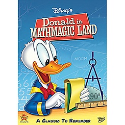 Donald in Mathmagic Land DVD