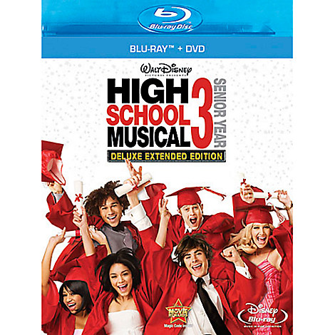 High School Musical 3: Senior Year - Blu-ray and DVD Combo Pack