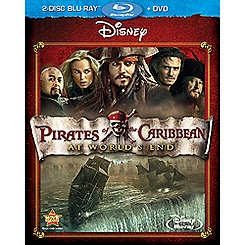 Pirates of the Caribbean: At World's End - 2-Disc Combo Pack