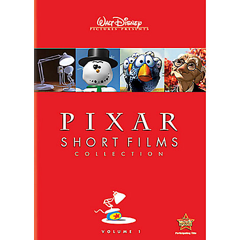 Pixar Short Films Collection Volume 1 DVD