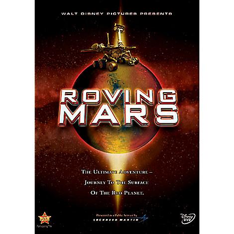 Roving Mars DVD