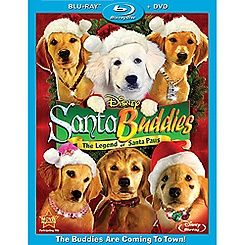 Santa Buddies: The Legend of Santa Paws - 2-Disc Combo