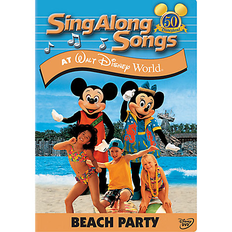 Sing Along Songs: Beach Party at Walt Disney World DVD