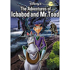 The Adventures of Ichabod and Mr. Toad DVD