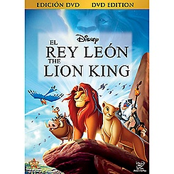 The Lion King DVD - Spanish