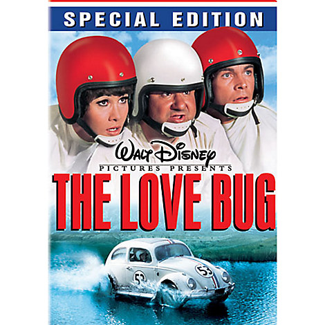 The Love Bug Dvd Special Edition Comedy Disney Store