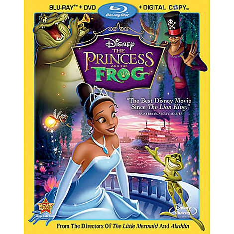 The Princess and the Frog - 3-Disc Set