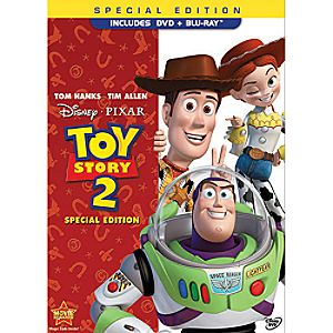 Toy Story 2 - 2-Disc DVD and Blu-ray Combo Pack