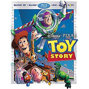 Toy Story - 4-Disc Set