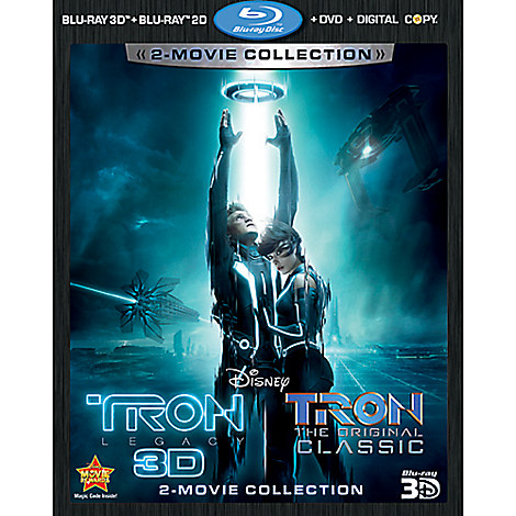 Tron and Tron: Legacy - 5-Disc Set