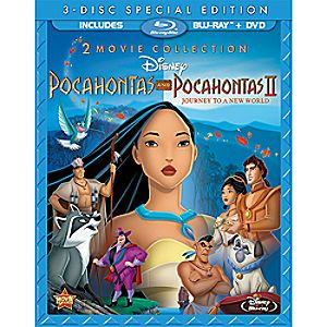 Pocahontas and Pocahontas II - 3-Disc Combo Pack