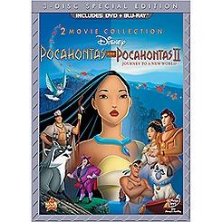 Pocahontas and Pocahontas II 3-Disc Set