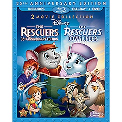 The Rescuers and The Rescuers Down Under - 3-Disc Set
