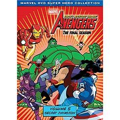 The Avengers DVD 2-Disc Set Volume 5: Secret Invasion