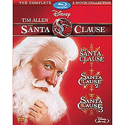 The Santa Clause: 3-Movie Blu-ray Collection