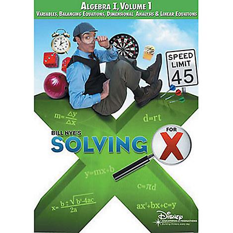 Bill Nye's Solving For X: Algebra Volume 1 DVD