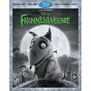 Frankenweenie 3-D Blu-ray 4-Disc Combo Pack