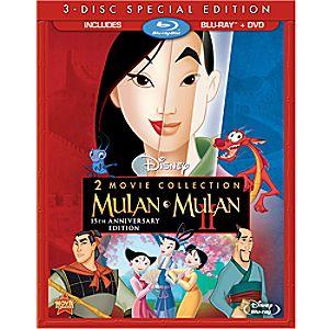 Mulan 15th Annniversary Blu-ray and DVD Combo Pack