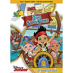 Jake and the Never Land Pirates Jake Saves Bucky 2-Disc DVD + Never Land Sword