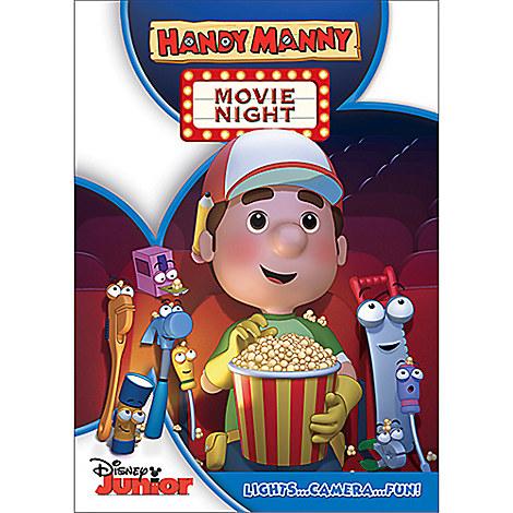 handy manny movie night dvd disney movies that start