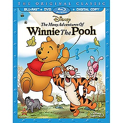 The Many Adventures Of Winnie The Pooh 2-Disc Combo Pack