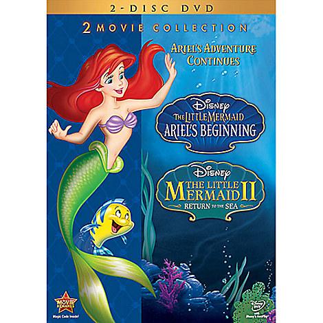 The Little Mermaid II + The Little Mermaid: Ariel's Beginning 2-Movie DVD Collection