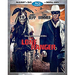 The Lone Ranger Blu-ray Combo Pack