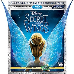 Secret of the Wings 3-D Blu-ray 4-Disc Combo Pack