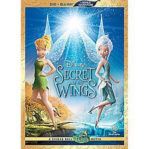 Secret of the Wings Blu-ray and DVD Com
