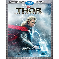 Thor: The Dark World Blu-ray 3-D Combo Pack