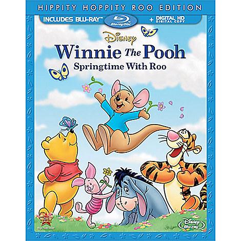 Winnie the Pooh: Springtime With Roo Blu-ray