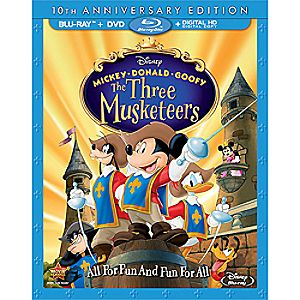 Mickey, Donald, Goofy: The Three Musketeers Blu-ray 10th Anniversary Edition