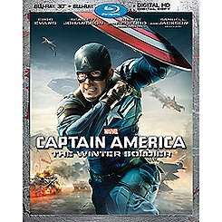 Captain America: The Winter Soldier Blu-ray 3-D Combo Pack