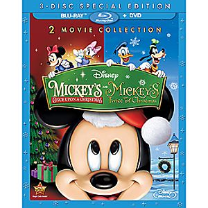 Mickey's Once Upon a Christmas + Mickey's Twice Upon a Christmas 3-Disc Special Edition