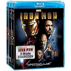 Iron Man 3-Movie Blu-ray Collection