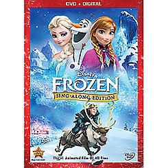 Frozen Sing-Along Edition DVD