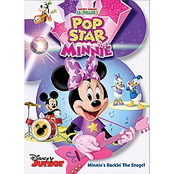 Mickey Mouse Clubhouse Pop Star Minnie DVD