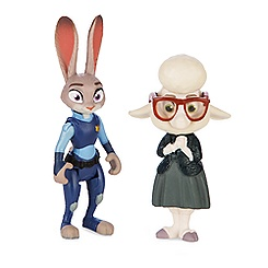 Judy Hopps & Assistant Mayor Bellwether Figure Set - Zootopia