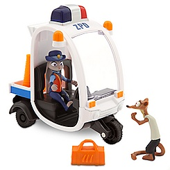 Judy Hopps Meter Maid Pursuit Play Set - Zootopia