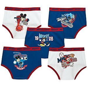 All-Star Mickey Mouse Underwear Set -- 5-pc.
