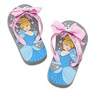 Cinderella Flip Flops for Girls