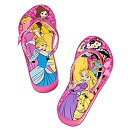 Disney Princess Platform Flip Flops for Girls
