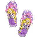 Rapunzel Platform Flip Flops for Girls