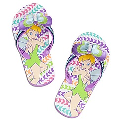 Tinker Bell Flip Flops for Girls