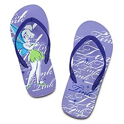 Tinker Bell Flip Flops for Women