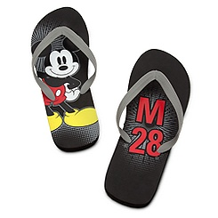 Mickey Mouse Flip Flops for Men