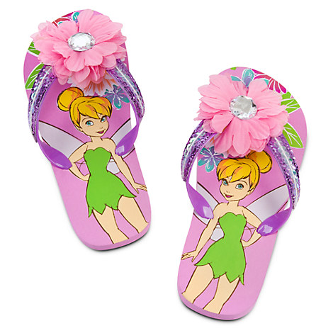 Tinker Bell Flip Flops for Girls | Shoes & Socks | Disney Store