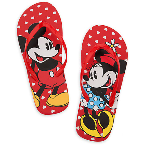 Yeti Cyber Monday Sale >> Mickey and Minnie Mouse Flip Flops for Women | Shoes ...