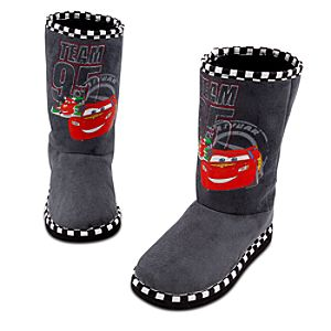Sherpa-lined Team 95 Cars 2 Boots for Boys